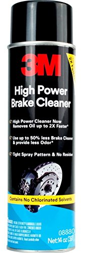 3M High Power Brake Cleaner, 08880, 14 oz Net Wt (Pack of 12)