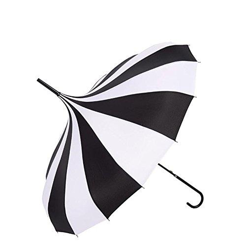 bpblgf M Regenschirm Hochzeit Sonnenschirm Brautschmuck Regenschirm Winddicht Wasserdicht Pagode Regenschirm, 01