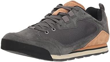 Merrell Men's Burnt Rock Travel Suede Hiking Shoe, Granite, 10 M US
