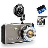 ◆【デュアルドライブレコーダー 前後カメラ&高画質録画】 FULL HD 2340*1296のフロントカメラ+VGA720X480リアカメラによって、死角なし前方の状態はもちろん、後方から追突された場合もしっかり記録出来ます。1296P高解像度カメラは事故又は事故発生の瞬間を確実的に捕らえます。非常時に、画面の品質が高ければ高いほど証拠としてビデオが優位性がを持っています。ドライブ旅行してからビデオを観賞しながら美しい思い出を楽しめます。 ◆【多機能 ドライブレコーダー】この車載ドライブレコーダ...