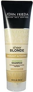 John Frieda Sheer Blonde Highlight Activating Enhancing Dark Blondes Shampoo 250ml