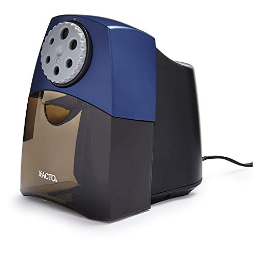 X-ACTO Electric Pencil Sharpener | Teacher Pro Pencil Sharpener for Classrooms, Quiet Electric...