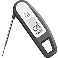 Lavatools PT12 Javelin Digital Instant Read Meat Thermometer for Kitchen, Food Cooking, Grill, BBQ, Smoker, Candy, Home Brewing, Coffee, and Oil Deep Frying (Sesame)