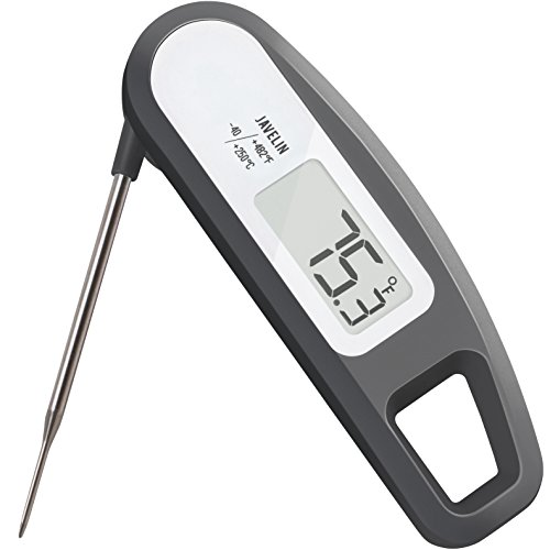 Instant Read Meat Thermometer for Kitchen, Outdoor Grilling, BBQ, Brewing, and Frying