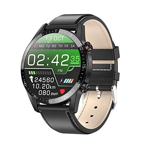 OH L13 Smart Watch, Ip68 Bluetooth Bluetooth Smart Pulsera Ecg + Ppg Mida a la Frecuencia Cardíaca Smartwatch, para Android 5.0 Y Superior E Ios8.0 Y Superior Desgaste diario/D