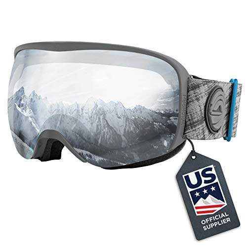 Wildhorn Cristo Ski Goggles - US Ski Team Official Supplier - Snow Goggles for Men, Women & Youth
