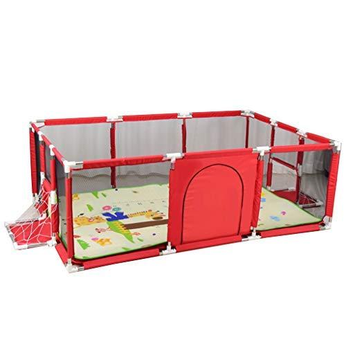 no brand Playpen bébés Parcs for Enfants à balles intérieur Aire de Jeux for Enfants cartérisations Ménage Portable Playpen