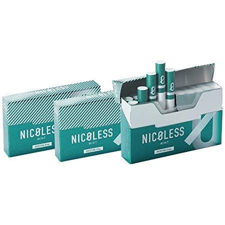 Amazon | 【セット】 NICOLESS ニコレス ミント 3箱 (1箱 20本入り) IQOS互換機 加熱式 | NICOLESS(ニコレス)  | 禁煙サポート用品