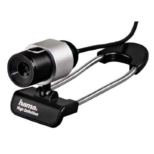 Hama Black Tube HD-Webcam - 720p