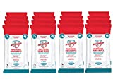 My-Shield Sanitizing Hand Wipes- Alcohol-Free, Long-Lasting Antimicrobial Protection. Kills 99.999% of Germs. Infused with Aloe Vera - Travel Pack (20 Count, 16-Pack)