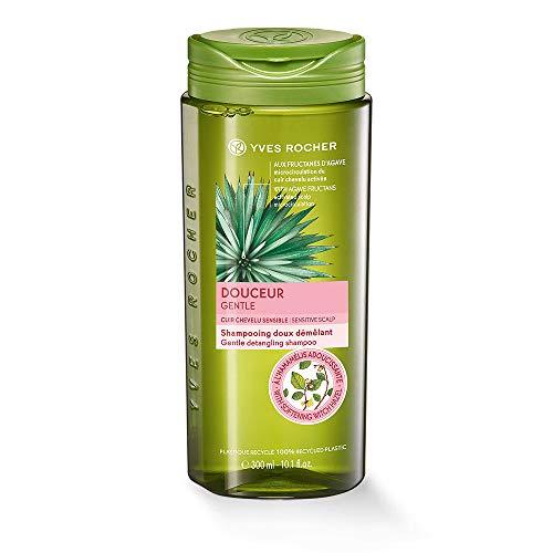 Yves Rocher PFLANZENPFLEGE HAARE mildes Shampoo, sanftes Haar-Shampoo, bei sensibler Kopfhaut, 1 x Flacon 300 ml