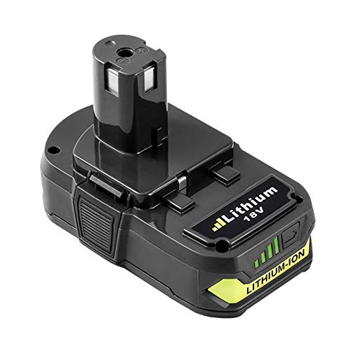 3.0Ah Battery Replacement for Ryobi 18V Battery Lithium ion One Plus P102 P103 P104 P105 P107 P108 P109 P122