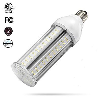 80W LED Corn Light Bulb Large Mogul E39 Base,5000K Daylight AC100-277V,250W HID HPS Metal Halide Replacement for steet and Area Lighting High Bay Parking lot Warehouse shoebox Fixture Canopy Light