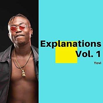 Explanations Vol. 1