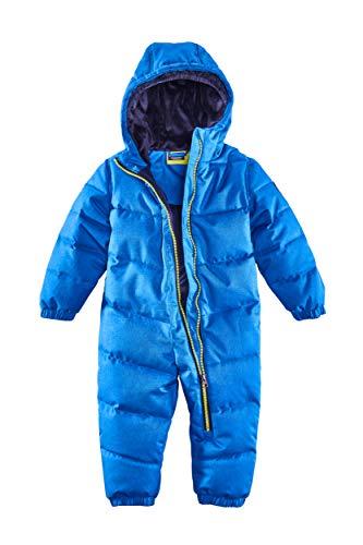Killtec Kinder Skioverall Karter Mini - Schneeanzug mit Kapuze - 10.000 mm Wassersäule - Skianzug für Mädchen und Jungen, royal, 86/92, 34238-000
