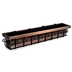H Potter Copper Window Box - Best Iron Window Boxes