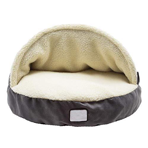 Pet Nest Hundebett Höhle für den Winter, warm, großer Schlafsack, abnehmbar, waschbar, Haus für große Hunde und Katzen