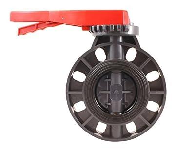 "PVC Butterfly valve 4"" - EPDM Seals - Sanipro from SANIPRO"