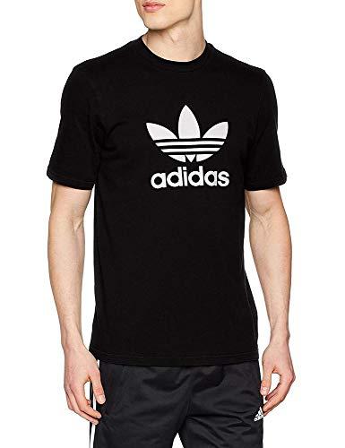 adidas Men Trefoil T-Shirt - Black, X-Small