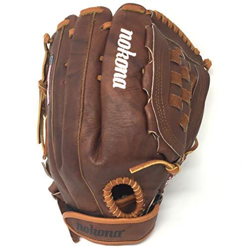 Nokona Walnut 13 inch Softball Glove W-V1300C Right Hand Throw