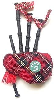Scottish Gift - Tartan Musical Bagpipe Fridge Magnet