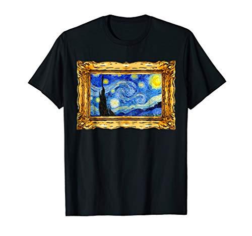Starry Night Vincent Van Gogh Famous Art Painting Artist