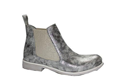 Brako Medea Silver Stiefeletten Schlupfstiefel (EU 37)