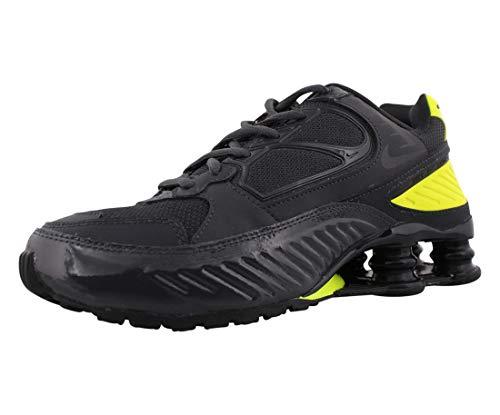 Nike BQ9001-008, Scarpe da Corsa Donna, Dark Smoke Grey/Black/Lemon Venom, 38 EU