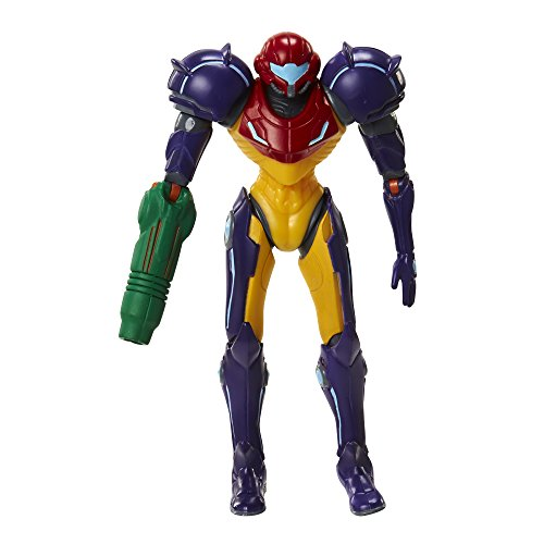World of Nintendo 91437 4' Samus Gravity Suit with Power Ball Action...