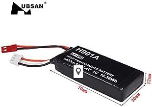 HUBSAN Transmitter Battery ,Original hubsan H901A 7.4V 1300mAh Lipo Rechargeable Transmitter Battery Suitable for HUBSAN X4 H501S H502S H107D FPV Controller