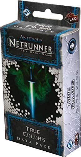 Fantasy Flight Games Android Netrunner LCG - Verdadera Cara, Juego de Cartas (Edge Entertainment EDGADN12)