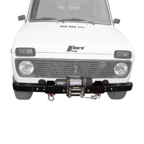 Seilwindensystem Lada Niva 2,2to Beta 5.0 mit TÜV bis Bj.2012 mit Kunststoff Elektrowinde Seilwinde 12V horntools