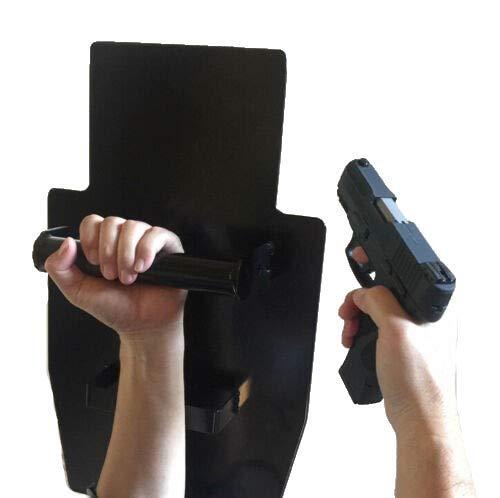 Body Armor Vest Plate Bulletproof Shield (XL: 22' x 14' 6mm, 19.5 lb) Black