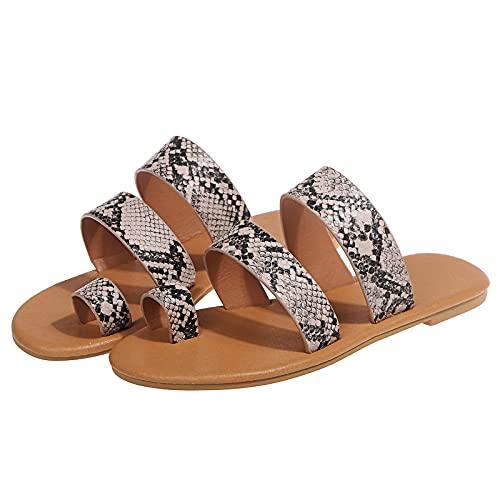 GEU - Sandalias de mujer, de moda y elegante, suaves y ligeras, para piscinas de playa, zapatos de verano, antideslizantes, interiores y cómodas.