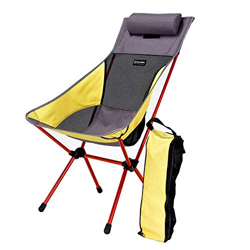 Moon Stoel Met Kussen, Outdoor Klapstoel, Ultra Light Portable Aluminium Camping Chair
