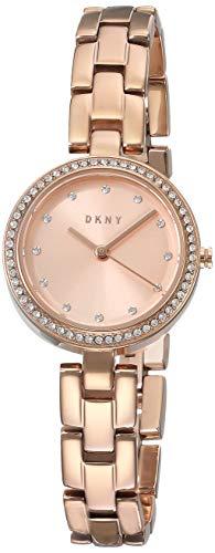 DKNY City Link - Reloj de cuarzo para mujer, acero inoxidable