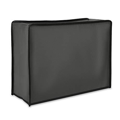 kwmobile Funda compatible con Nespresso Pixie - Cubierta protectora antipolvo para cafetera - En gris oscuro
