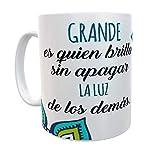 SAQUITOMAGICO Tazas con Frases motivadoras Mandalas (Brilla)