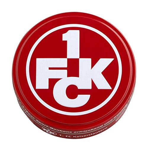 1. FC Kaiserslautern Bonbons in dekorativer Metalldose FCK - Plus Lesezeichen Wir lieben Fußball
