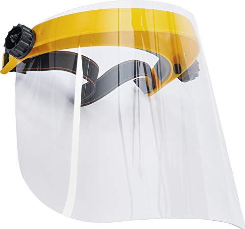 BGS 3703 | Gesichtsschutzschild | transparent | nach EN 166 | Gesichtschutz, Visier, Augenschutz, Gesichtschild