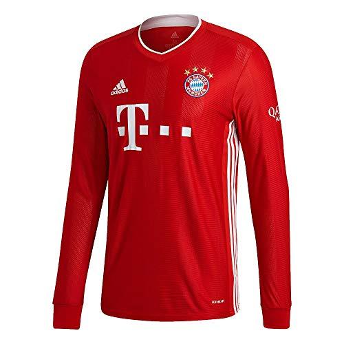 adidas Herren 20/21 FC Bayern Home Jersey Longsleeve Trikot Langarm, Fcbtru, 3XL