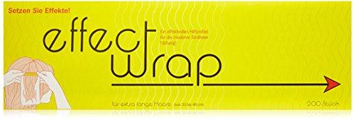 R.Stoll Effect Wrap L - Secador de pelo extralargo (33-48 cm, 200 hojas, 200 unidades)