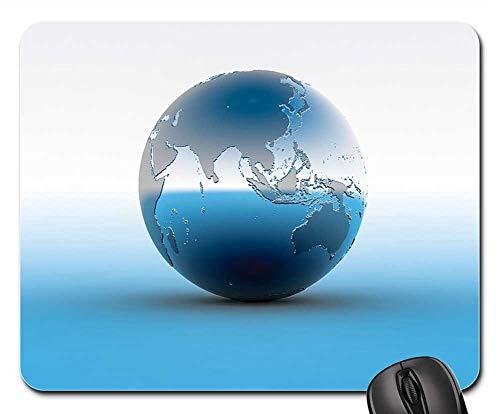 Mouse Pad - Globe World Earth Planet Earth Globe Sphere Map 3