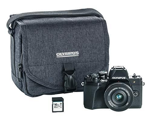 Olympus OM-D E-M10 Mark III Camera Kit with 14-42mm EZ...