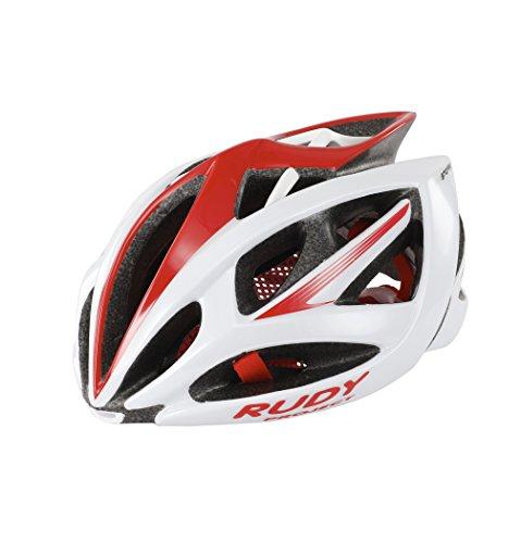 Rudy Project Airstorm Helmet Whhite-Red (Shiny) Kopfumfang 59-61 cm 2018 Fahrradhelm