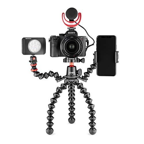 Joby JB01567-BWW GorillaPod 3K PRO Rig flexible Stativplattform aus Aluminium (mit Kugelkopf und zwei GorillaPod-Armen für Premium-CSC- und spiegellose Kameras, Traglast bis zu 3kg)