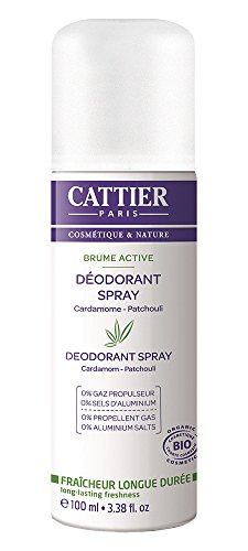 Cattier-Paris Deodorant Spray, 1er Pack (1 x 100 ml)