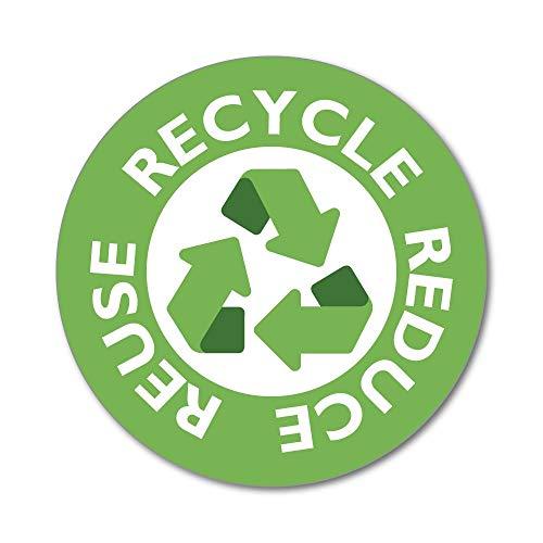pegatina reciclaje fabricante Sticker Collective