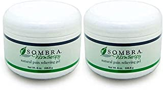Sombra Warm Therapy Natural Pain Relieving Gel, 8 Oz (Pack of 2)