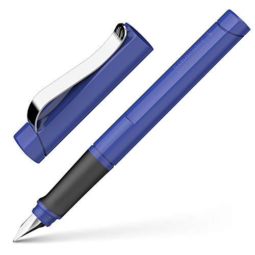 Schneider Base - Pluma estilográfica, color azul
